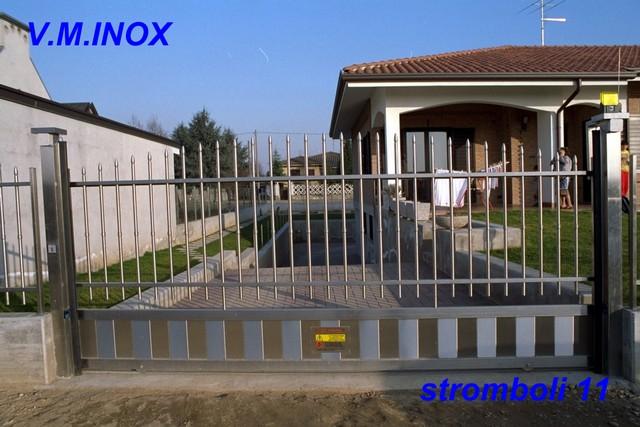 Cancelli In Acciaio Inox.Home Page Recinzioni E Lavorazioni Inox