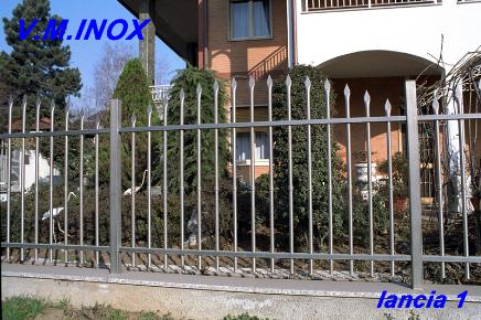 Good recinzione inox economica with recinzioni economiche for Recinzione economica fai da te
